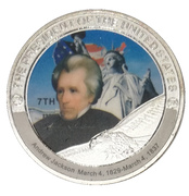 Token - Andrew Jackson (7th President) -  avers