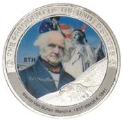 Token - Martin Van Buren (8th President) -  avers