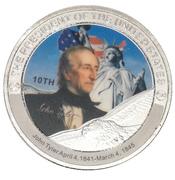 Token - John Tyler (10th President) -  avers