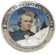 Token - Andrew Johnson (17th President) -  avers