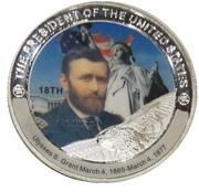 Token - Ulysses S. Grant (18th President) -  avers