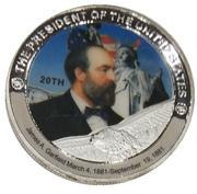 Token - James A. Garfield (20th President) -  avers