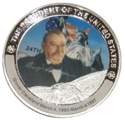 Token - Grover Cleveland (24th President) -  avers
