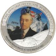 Token - Woodrow Wilson (28th President) -  avers
