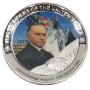 Token - Calvin Coolidge (30th President) -  avers