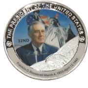 Token - Franklin D. Roosevelt (32nd President) -  avers
