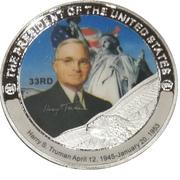 Token - Harry S. Truman (33rd President) -  avers