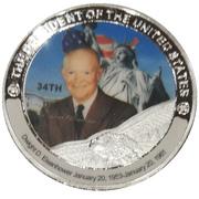 Token - Dwight D. Eisenhower (34th President) -  avers