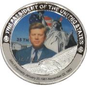 Token - John F. Kennedy (35th President) -  avers