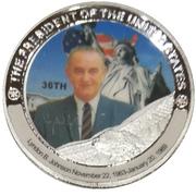 Token - Lyndon B. Johnson (36th President) -  avers
