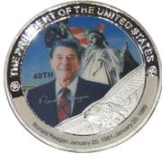 Token - Ronald Reagan (40th President) -  avers