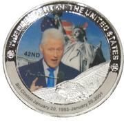 Token - Bill Clinton (42nd President) -  avers