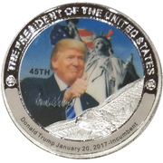 Token - Donald Trump (45th President) -  avers