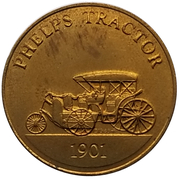 Jeton - Antique Car Coin Collection (Phelps Tractor) -  avers
