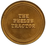 Jeton - Antique Car Coin Collection (Phelps Tractor) -  revers