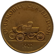 Jeton - Antique Car Coin Collection (Oldsmobile Curved-Dash) -  avers