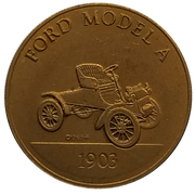 Jeton - Antique Car Coin Collection (Ford Model A) -  avers
