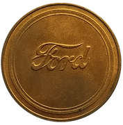 Jeton - Antique Car Coin Collection (Ford Model A) -  revers