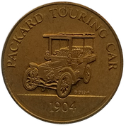 Jeton - Antique Car Coin Collection (Packard Touring Car) -  avers