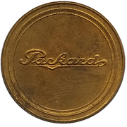 Jeton - Antique Car Coin Collection (Packard Touring Car) -  revers
