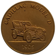 Jeton - Antique Car Coin Collection (Cadillac Model D) -  avers