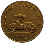 Jeton - Antique Car Coin Collection (Lambert Friction Drive) -  avers