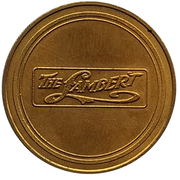 Jeton - Antique Car Coin Collection (Lambert Friction Drive) -  revers