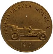 Jeton - Antique Car Coin Collection (Stevens-Duryea Model X) -  avers