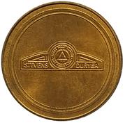 Jeton - Antique Car Coin Collection (Stevens-Duryea Model X) -  revers