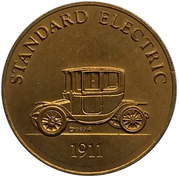 Jeton - Antique Car Coin Collection (Standard Electric) -  avers