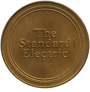 Jeton - Antique Car Coin Collection (Standard Electric) -  revers