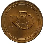 """Jeton - Antique Car Coin Collection (Reo """"The Fifth"""") -  revers"""
