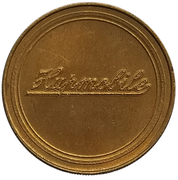 Jeton - Antique Car Coin Collection (Hupmobile Series 32) -  revers