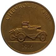 "Jeton - Antique Car Coin Collection (Chevrolet ""490"") -  avers"