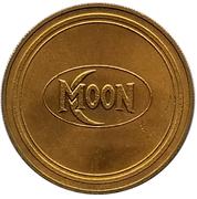 Jeton - Antique Car Coin Collection (Moon Touring Car) -  revers