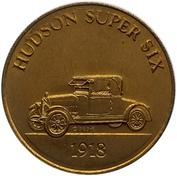 Jeton - Antique Car Coin Collection (Hudson Super Six) -  avers
