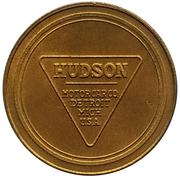 Jeton - Antique Car Coin Collection (Hudson Super Six) -  revers