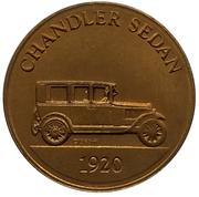Jeton - Antique Car Coin Collection (Chandler Sedan) -  avers