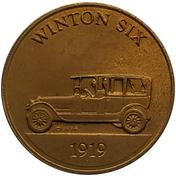 Jeton - Antique Car Coin Collection (Winton Six) -  avers