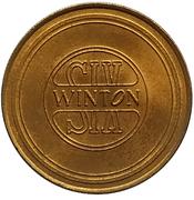 Jeton - Antique Car Coin Collection (Winton Six) -  revers