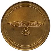 Jeton - Antique Car Coin Collection (Duesenberg Straight 8) -  revers