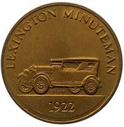 Jeton - Antique Car Coin Collection (Lexington Minuteman) -  avers