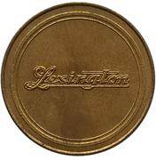 Jeton - Antique Car Coin Collection (Lexington Minuteman) -  revers