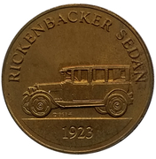 Jeton - Antique Car Coin Collection (Rickenbacker Sedan) -  avers