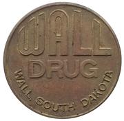 Jeton - Wall Drug (Badlands National Park) -  avers