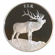 Medal - National Wildlife Refuge System (Elk) -  avers