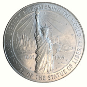 Médaille - Statue of Liberty Centennial American (Museum of Immigration) -  avers