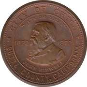 Medal - City of Chico Centennial (California)