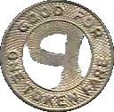City Lines Parkersburg token -  avers