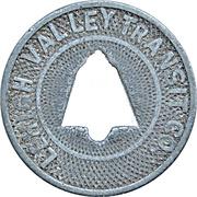 Fare Check Token - Lehigh Valley Transit Co. (Allentown, Pennsylvania) -  avers